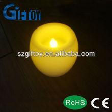 flameless wax led candle