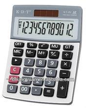 12 digits promotion office desktop calculator cover KT-6V