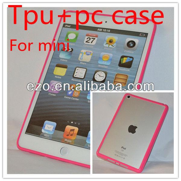 For ipad mini tpu case PC cover