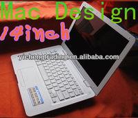 14.1 inch Intel D2500 smart laptop WiFi Win 7 /bluetoothLaptop
