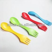 FDA camping plastic cutlery spork,knife,fork,spoon
