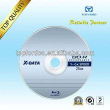 25GB 6X BDR Blu ray Blank disc