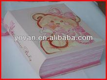 luxury ! book shape like box for children gift packaging