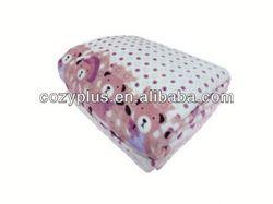 2013 alibaba top 10 Fleece Blanket 100% Polyester Fabric for fashionable sam plush toys