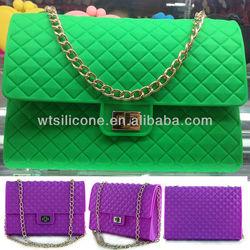 Silicone Fashion Ladies Handbag in China