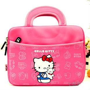 Neoprene hello kitty laptop bag for ipad
