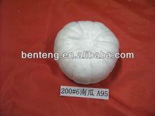 white polyfoam plastic craft pumpkins decorative