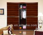 Modern Wardrobe Design Wooden Clothes Cupboard