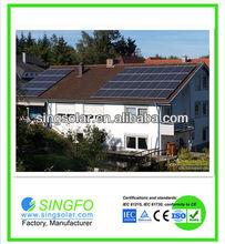 Home solar power generator system 3kw / solar power system3kw