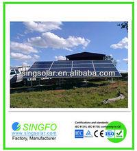 good price 3KW polycrystalline solar power generation system