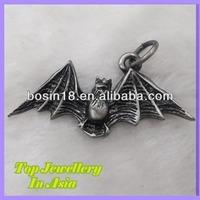 Fashion Antique Bat Charm Animal Pendant Jewelry
