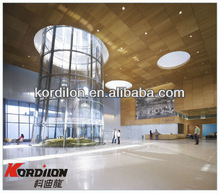 Hospital wood grain decorative ceiling tiles