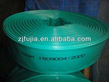 high quality PVC flat water irrigation hose, riser main hose