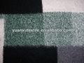 tejido de lana abrigo de tela