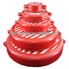 Safety ABS gate valve lockout cover