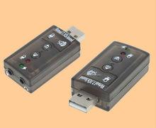 Computer portatile di registrazione esterni creativo 7.1 scheda audio usb