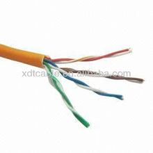 Cat5e Data Networking Cable, Unshielded Cable Copper Core with PVC/LSZH Jacket and PE Insulation