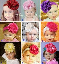 baby elastic flower headband
