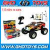 Gas powered rc cars 1:8 nitro gas rc car