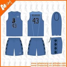 LB32 Sublimated Basketball Tops And Bottoms Custom Basketball Uniforms