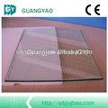 construção de painéis de vidro