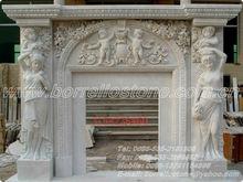 Natural Marble Granite Tile Fireplace