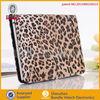 leopard print leather case for ipad mini BBNPMPU002, for iPad mini leather cover