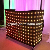 LED DJ Animation cloth led curtain light