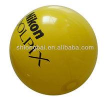 Yellow PVC Inflatable Ball