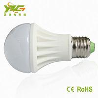 Ceramic body 7W led bulb 85-265V E27 Dimmable more choose 3W 5W