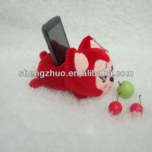 Catoon shape Plush Mobile phone Holder
