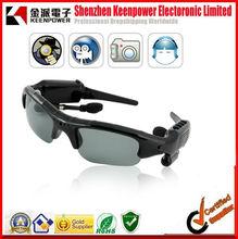 hidden Camera Sunglasses ( DVR, Bluetooth, MP3) - 4GB