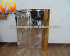 silver/gold metallized polyester film 12 micron for cardboard