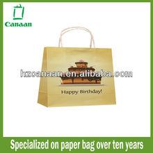 hot sale machine made paper gift bag