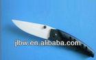 black unique ceramic pocket knife and pouch