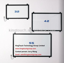 "32 inch infrared touch screen frame without glass / IR touch panel 32"" fast shipping"