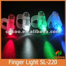 Fashion Finger Ring Flashing LED Light SL-220