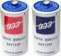 De la batería r20 um-1 1.5v