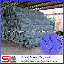 Hexagonal wire mesh,woven aluminum wire mesh fence