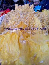 used clothing of wedding dresses