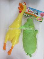small plastic toy chicken shrilling chicken