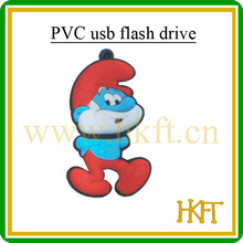 2gb 4gb 8gb 16gb cartoon PVC usb flash drive