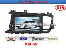 HD touch screen Car DVD player for Kia K5/optima 2011