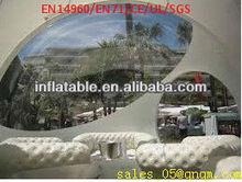 inflável barraca da bolha transparente