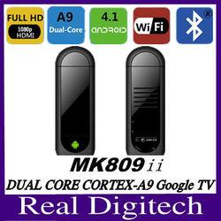 BEST MK809 II mini pc Bluetooth HDMI Dongle android 4.1 mini pc mk809 ii