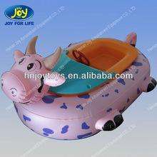 Lovely pig child bumper boat for water park Anne