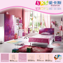 Hot selling - kids room furniture children school furniture girls 8330#