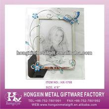 Hx-1708 голубая бабочка стекло печать и фотографии онлайн