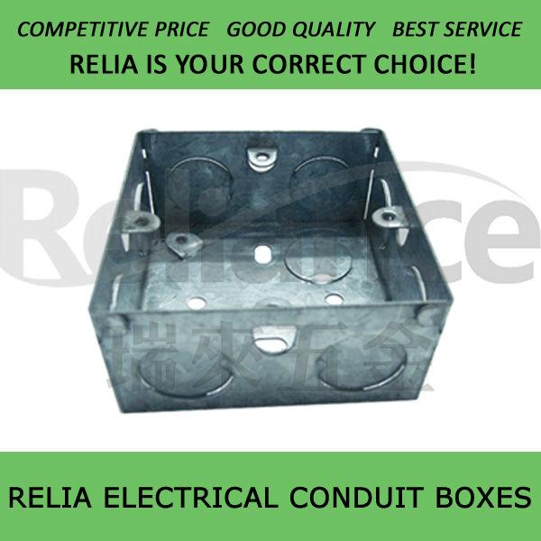 "3""x3"" Metal Electrical Box"