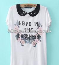 2013Newest Rose Cotton Summer T-Shirt